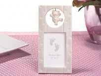 "2"" x 3"" Vertical Pink Bear Photo Frame"